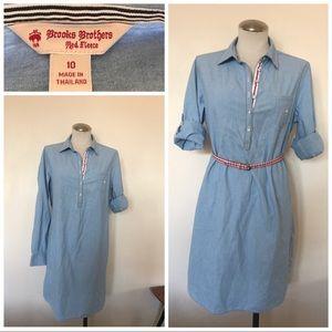 Brooks Bros chambray tunic dress